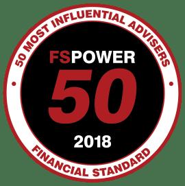 FSPower50 2018 - Most Influential Adviser