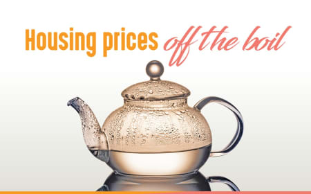 Housing prices off the boil