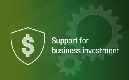 Support for business investment