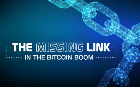 The missing link in the Bitcoin boom