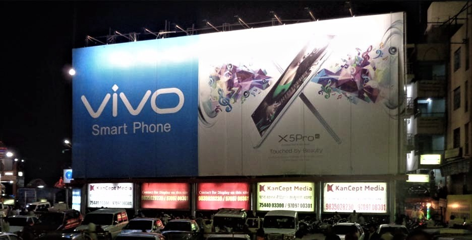 OOH Campaign for Vivo by Century Media