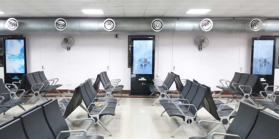Digital OOH takes off at Patna Airport image, Century Media