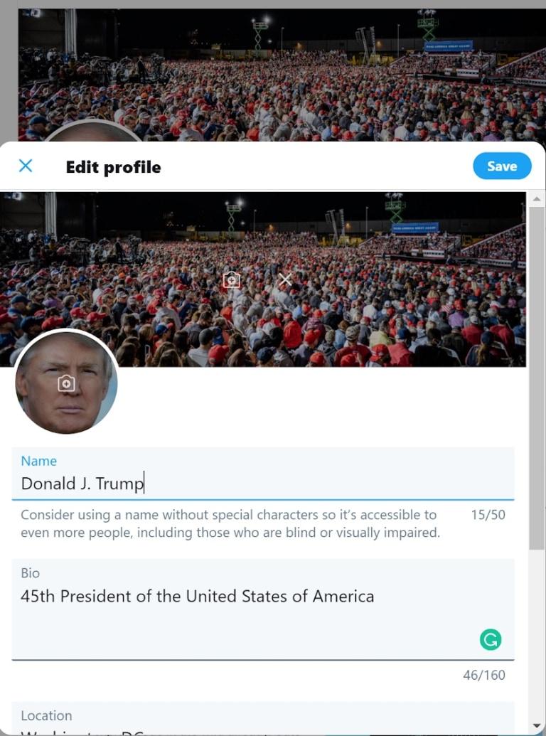 hacker donald trump twitter