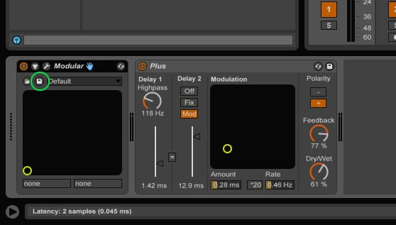 Saving a Softube Modular patch in Ableton Live
