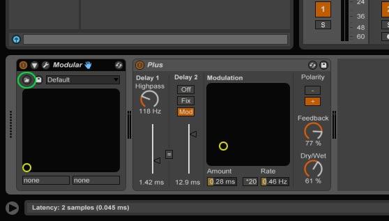 Loading your patches in Ableton