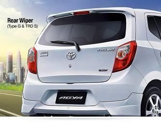 Desain Toyota Agya