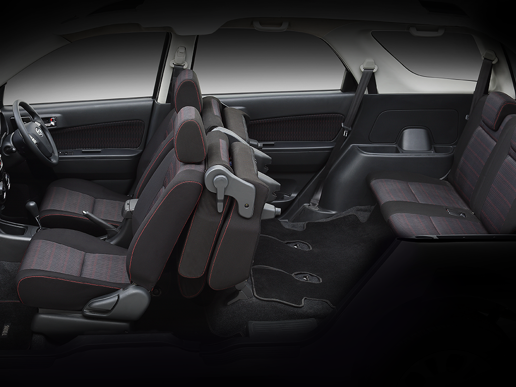 Interior Daihatsu Terios