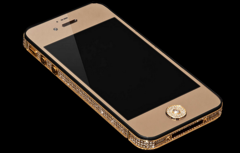 10 HP Termahal di Dunia, Stuart Hughes iPhone 5 Black Diamond