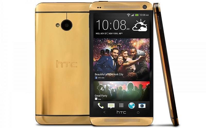 10 HP Termahal di Dunia, HTC One Gold