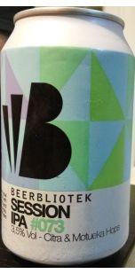 Beerbliotek Session IPA Citra Motueka 3.5%