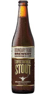 Boundary Road Brewer's Cut Arabica Dabra Coffee Oatmeal Stout