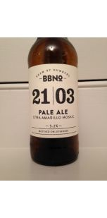 Brew By Numbers 21/03 Pale Ale - Citra Amarillo Mosaic
