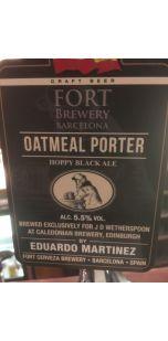 Caledonian / Cerveza Fort Oatmeal Porter