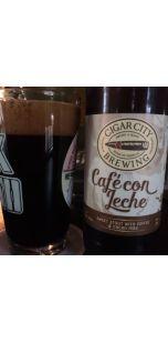 Cigar City Cafe Con Leche Stout