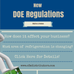New DOE Regulations for Refrigeration Products