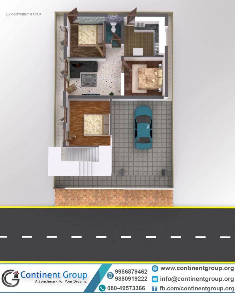 3d Floor Plan-3d Floor Plan Bangalore