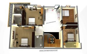 Residential building plan Bangalor