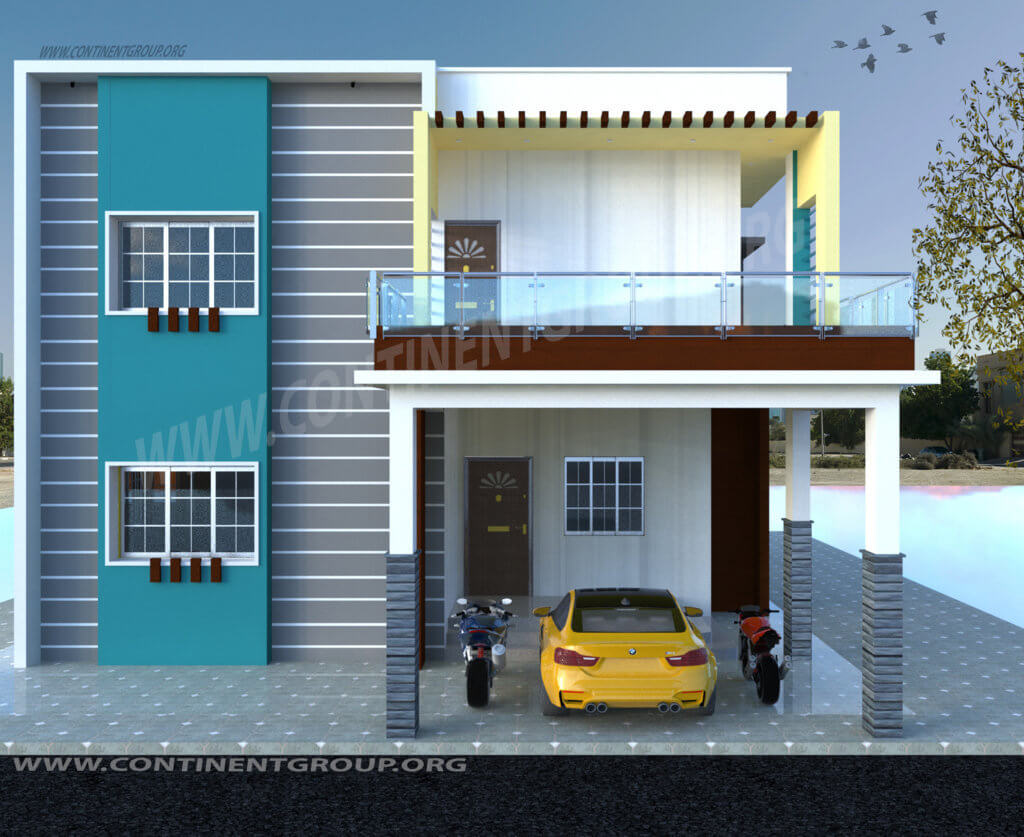N Small Home Elevation Photos : Architects in bangalore top