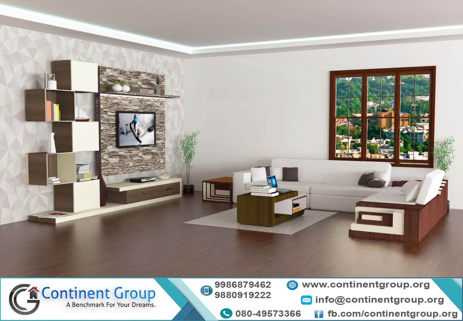 Budget interior designers Bangalore - Continent Group