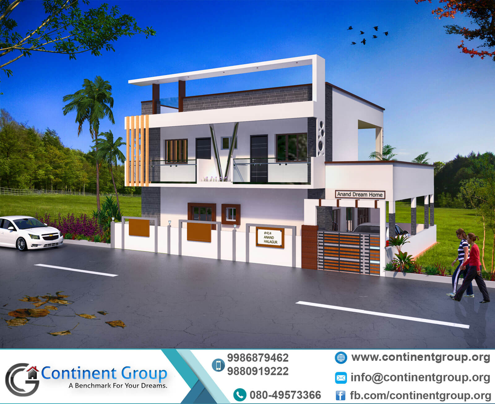 D Front Elevation Of Building : Project gallery building elevation d floor plan interior