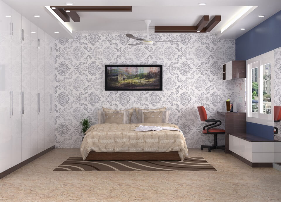 Interior Design Bangalore-bedroom design-modern interior