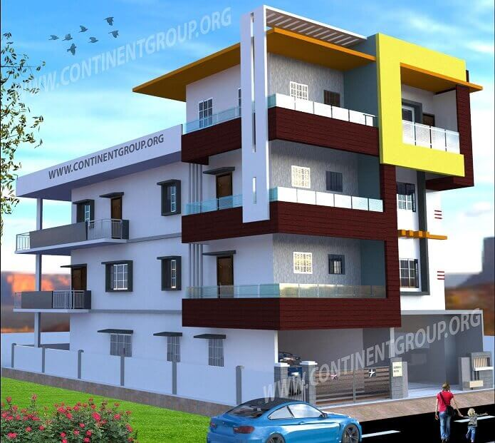 building front elevation 3d bangalore new design 3d building elevation