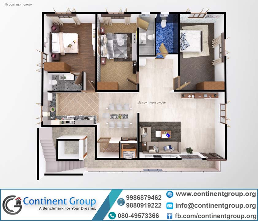 3d floor plan top bangalore service