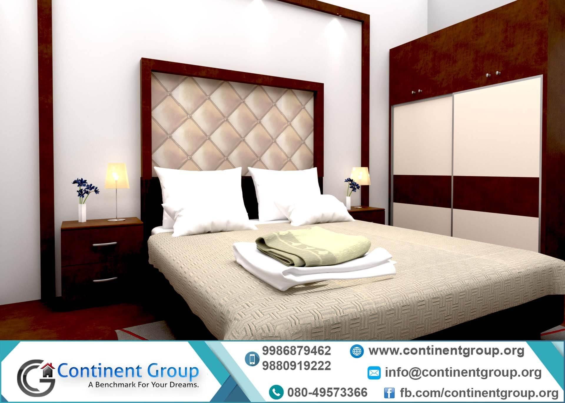 Interior Design-Bed Room Interior Bangalore