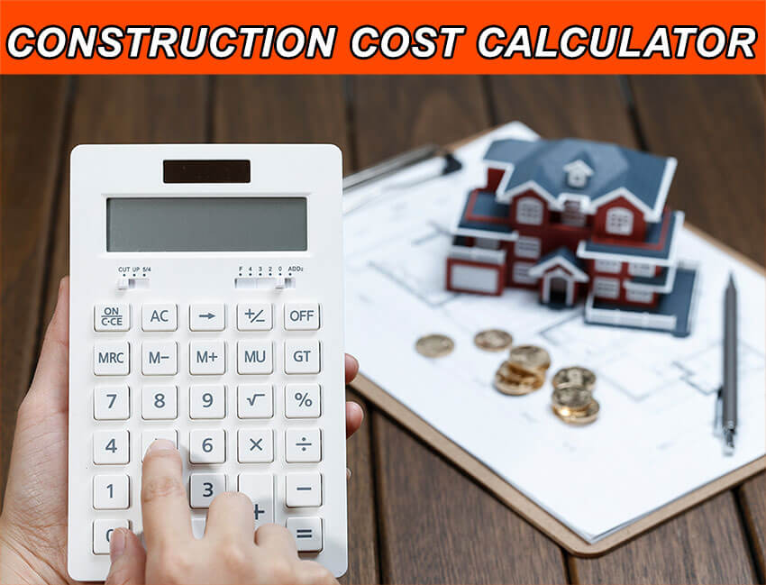 Building construction cost calculator online
