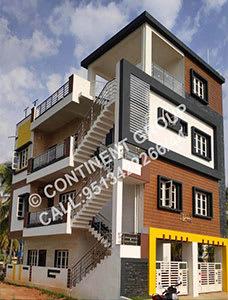 Modern front elevation