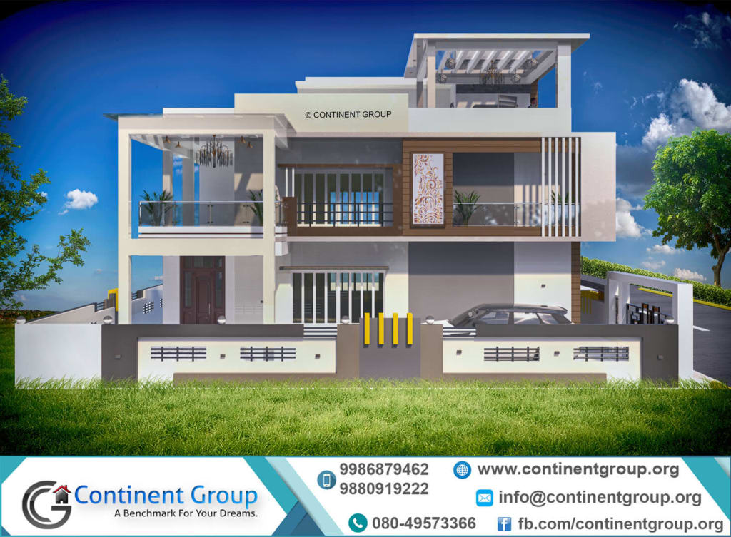 3d front elevation design bangalore