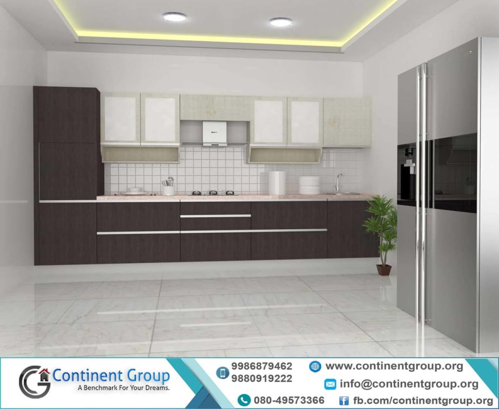 Modular Kitchen straight type top interior-top modular kitchen-bangalore