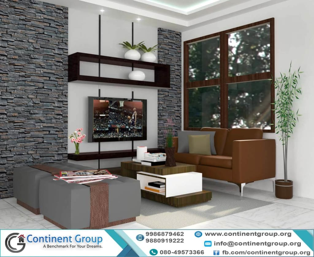 Modern Living Interior Design Bangalore