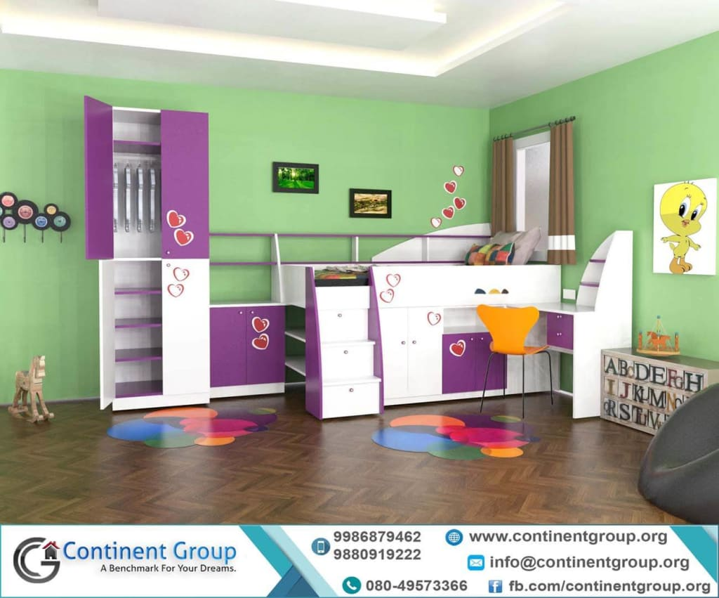 kids room top interior design in Bangalore