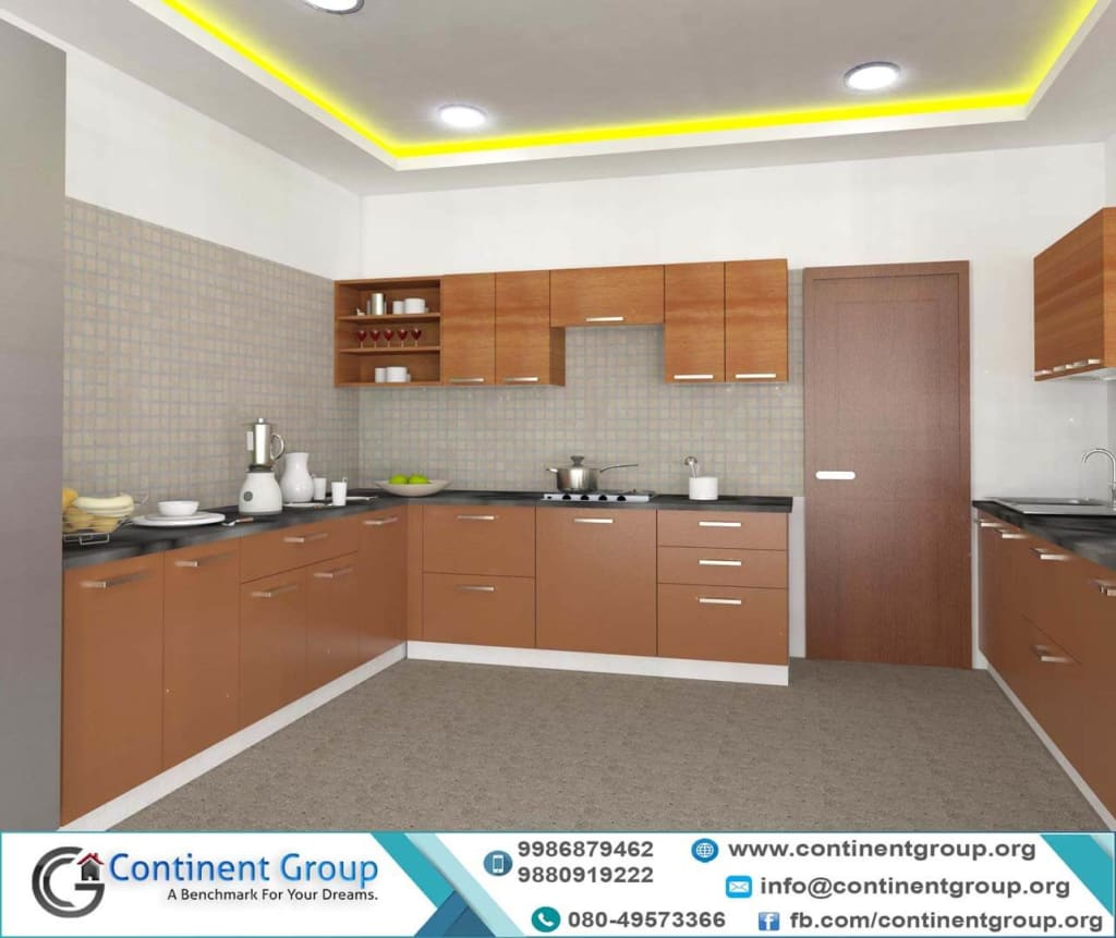 Modular Kitchen U shape at best prices bangalore