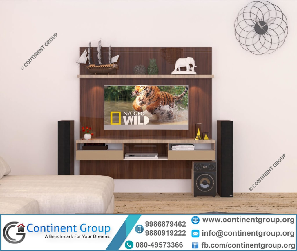 modern tv unit interior design bangalore-top interiors -living interior
