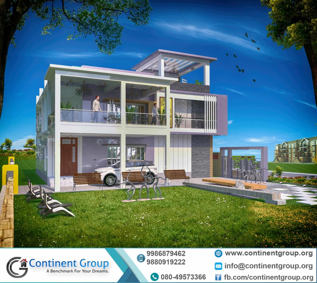 3d Building Elevation design-3d front elevation design