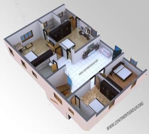 3d Floor Plan Service in Bangalore