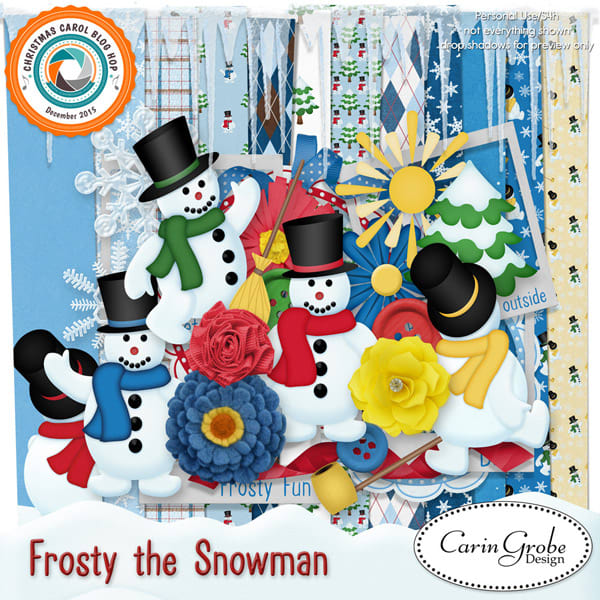 Frosty by Carin Grobe Design