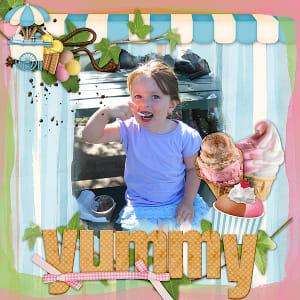 EnJOY Ice Cream by Carin Grobe Design