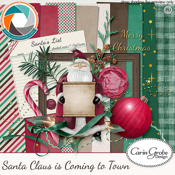 CGD Santa Claus is Coming to Town Minikit