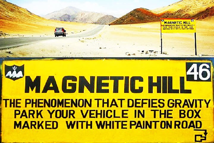 magnetic Hill Ladakh