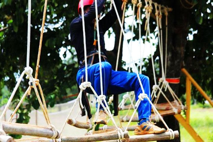 Ropes and Knots Adventure Valley-Yelagiri