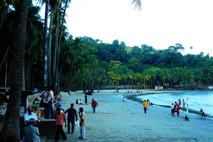 Corbyn's Cove Beach, Port Blair