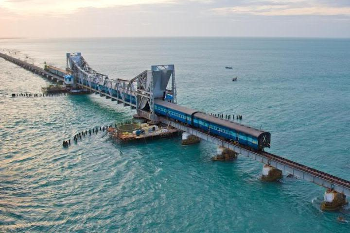 Pamban bridge (Rameswaram)