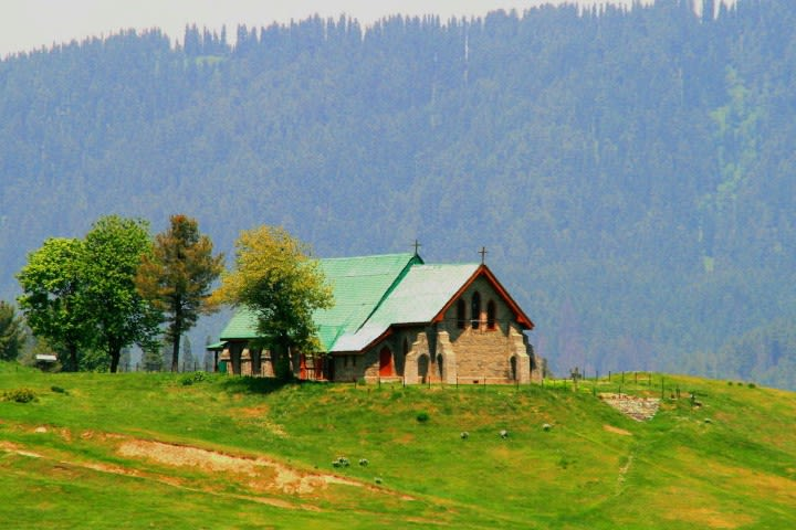 St Mary's Church Gulmarg
