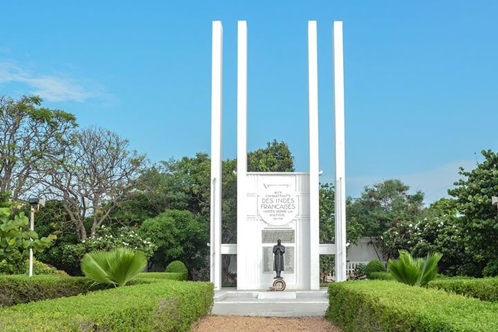 French War Memorial Mahe