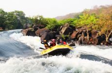 Water Rafting And Camping Trip