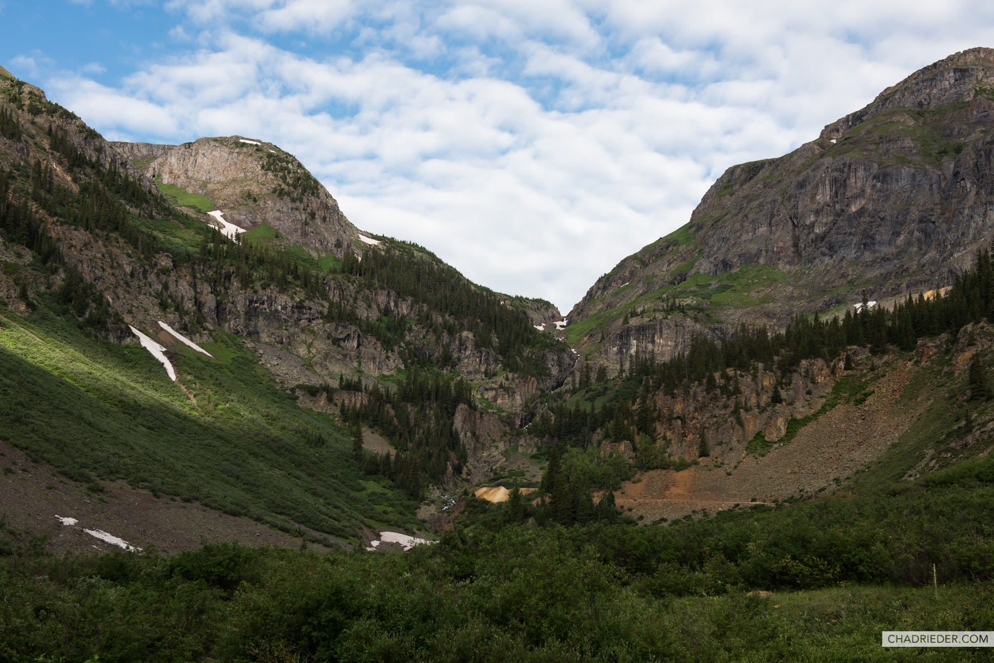 San Juan Mountains near Ouray