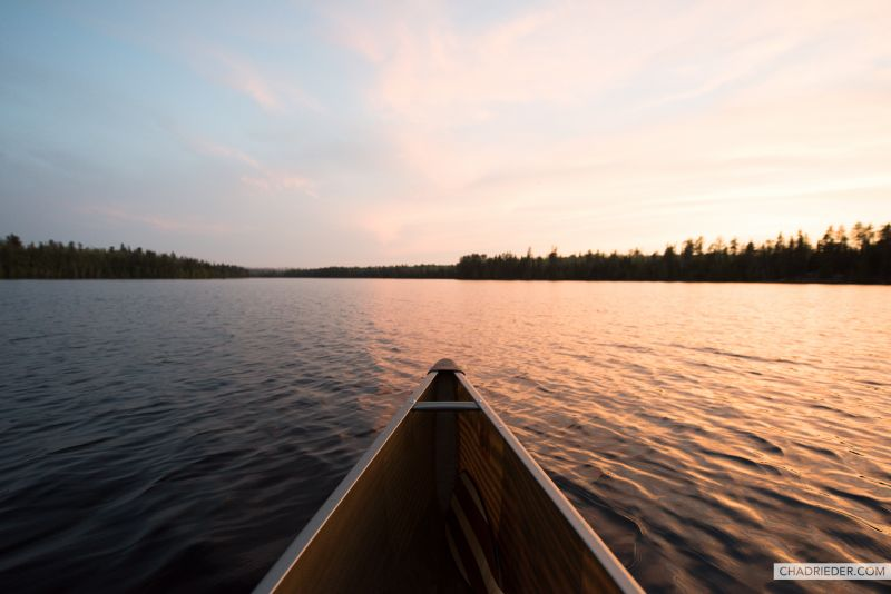 Canoe Camping BWCA